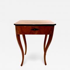 Biedermeier Side Table with Drawer Cherry Veneer South Germany circa 1830 - 1439377