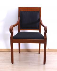 Biedermeier Style Armchair Cherry wood Shellac South Germany circa 1900 - 1325424