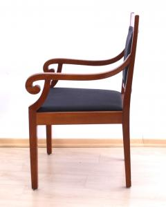 Biedermeier Style Armchair Cherry wood Shellac South Germany circa 1900 - 1325427