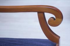 Biedermeier Style Armchair Cherry wood Shellac South Germany circa 1900 - 1325430