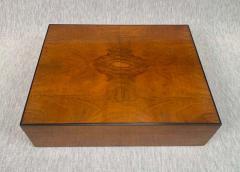 Biedermeier Style Decorative Box Walnut Veneer South Germany circa 1910 1920 - 1808478