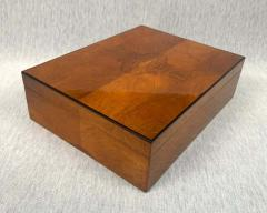 Biedermeier Style Decorative Box Walnut Veneer South Germany circa 1910 1920 - 1808480
