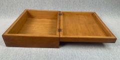Biedermeier Style Decorative Box Walnut Veneer South Germany circa 1910 1920 - 1808482