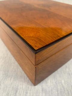 Biedermeier Style Decorative Box Walnut Veneer South Germany circa 1910 1920 - 1808483
