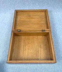 Biedermeier Style Decorative Box Walnut Veneer South Germany circa 1910 1920 - 1808485