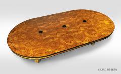 Biedermeier Style Round Dining Table by Iliad Design - 453739