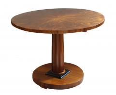 Biedermeier Table with Fold Up Plate Walnut Veneer Austria Vienna circa 1825 - 1002422