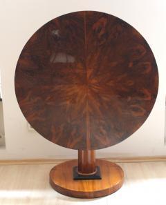 Biedermeier Table with Fold Up Plate Walnut Veneer Austria Vienna circa 1825 - 1002423