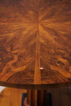 Biedermeier Table with Fold Up Plate Walnut Veneer Austria Vienna circa 1825 - 1002425