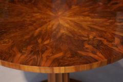 Biedermeier Table with Fold Up Plate Walnut Veneer Austria Vienna circa 1825 - 1002428