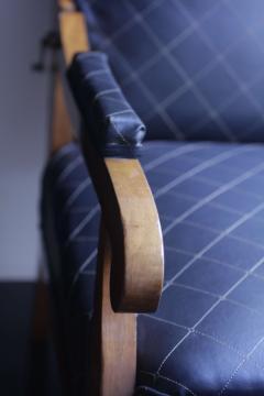 Biedermeier Wing Chair Adjustable Walnut South Germany circa 1820 - 1267898
