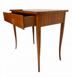 Biedermeier Working Table with Drawer Cherry Veneer South Germany circa 1830 - 1201514