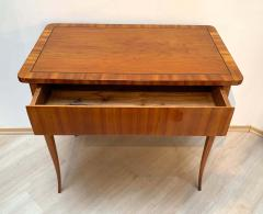Biedermeier Working Table with Drawer Cherry Veneer South Germany circa 1830 - 1201516