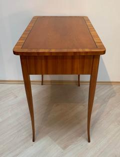 Biedermeier Working Table with Drawer Cherry Veneer South Germany circa 1830 - 1201520