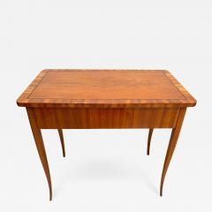 Biedermeier Working Table with Drawer Cherry Veneer South Germany circa 1830 - 1201625