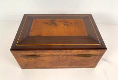 Biedermeier box from Vienna around 1840 - 2075291