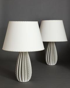 Bill Hudnut Pair of Ceramic Lamps by Bill Hudnut - 213436