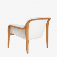 Bill Stephens Model 1315 Bentwood Lounge Chair in Faux Lambswool by Bill Stephens for Knoll - 1430683