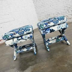 Billy Baldwin Billy baldwin style x base benches or foot stools - 2130379