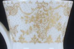Bj rn Wiinblad Rosenthal Studio Linie Bjorn Wiinblad 6 p Coffee service with gold decoration - 1293068