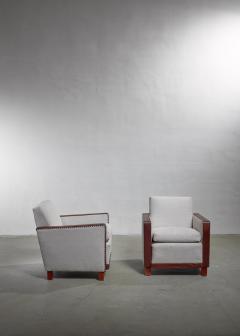 Bjorn Tragardh Bjorn Tragardh pair of easy chairs Sweden 1930s - 1032506