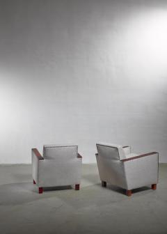 Bjorn Tragardh Bjorn Tragardh pair of easy chairs Sweden 1930s - 1032507