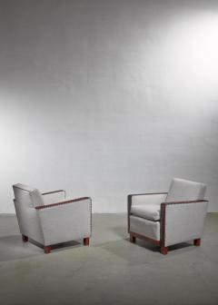 Bjorn Tragardh Bjorn Tragardh pair of easy chairs Sweden 1930s - 1032508