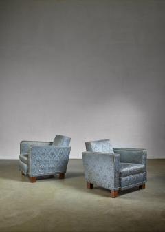 Bjorn Tragardh Bjorn Tragardh pair of easy chairs for Svenskt Tenn 1930s - 795452