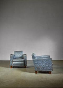 Bjorn Tragardh Bjorn Tragardh pair of easy chairs for Svenskt Tenn 1930s - 795453