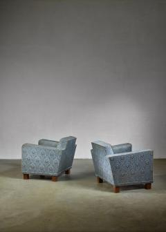 Bjorn Tragardh Bjorn Tragardh pair of easy chairs for Svenskt Tenn 1930s - 795457