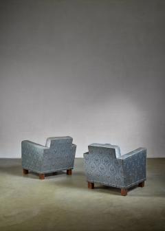 Bjorn Tragardh Bjorn Tragardh pair of easy chairs for Svenskt Tenn 1930s - 795459