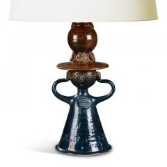 Bjorn Wiinblad Bj rn Wiinblad Table Lamp with Female Figure Base by Bjorn Wiinblad - 1556827
