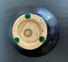 Black Ceramic Vase with Oil spot Glaze Jian Ware - 1201732