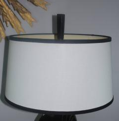 Black Cerused Heifrtz Style Table Lamp - 346871