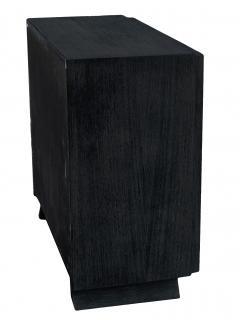 Black Cerused Mid Century Dresser - 1853113
