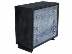 Black Cerused Mid Century Dresser - 1853118