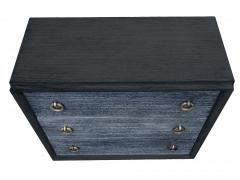 Black Cerused Mid Century Dresser - 1853121