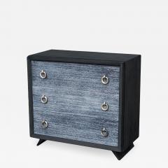 Black Cerused Mid Century Dresser - 1856183