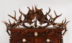 Black Forest German or Austrian Two Piece Gun Cabinet - 636680