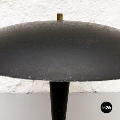 Black metal table lamp 1930s - 2034591