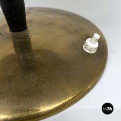 Black metal table lamp 1930s - 2034594