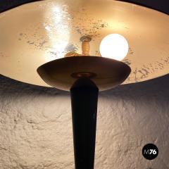Black metal table lamp 1930s - 2034598
