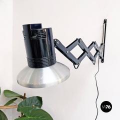 Black pantograph wall lamp 1970s - 2102758