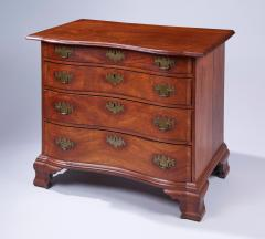 Blocked End Reverse Serpentine Chest of Drawers - 1571663