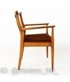 Blowing Rock Mid Century Walnut Dining Chairs Set of 6 - 1810442