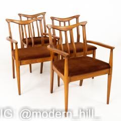 Blowing Rock Mid Century Walnut Dining Chairs Set of 6 - 1870081