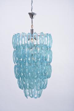 Blue 1970s Italian Chandelier - 1031827