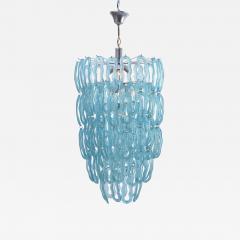 Blue 1970s Italian Chandelier - 1032571