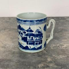 Blue White Cider Mug China Circa 1800 - 1629691