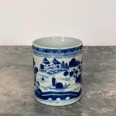 Blue White Cider Mug China Circa 1800 - 1629692